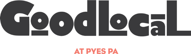 Good Local Pyes Pa Retina Logo
